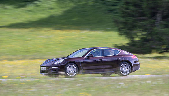 If there was a list of top hundred experiences, driving cars like the Panamera would be in the top ten