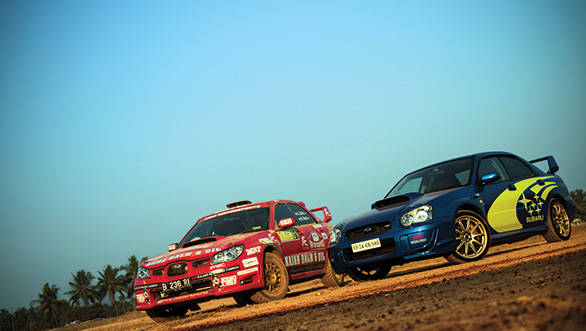 Impreza twins: A road and rally WRX driven