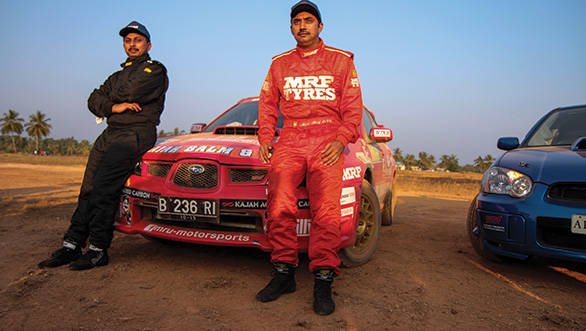 A Zuhin and Musa Sherif of Team Kajah Motorsport drove the Impreza to championship victory at their maiden INRC