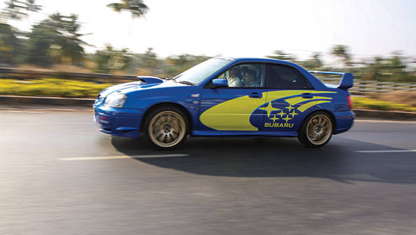 The Subaru Impreza is as fast on the road like its rally counterpart is off-road