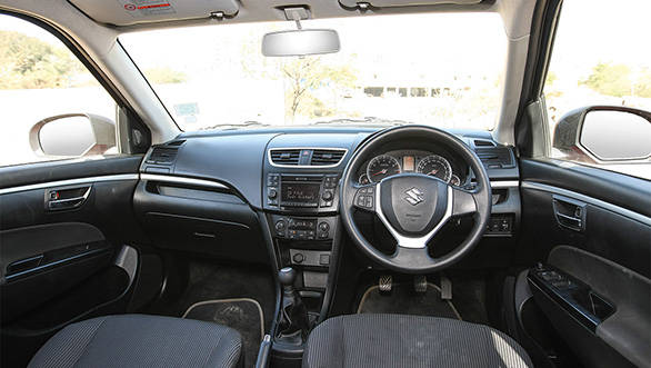 2013 Maruti Swift interiors