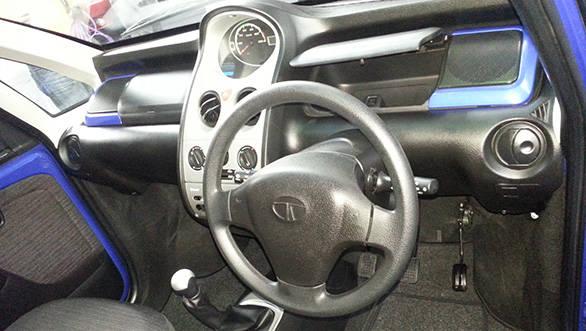 2013 Tata Nano interiors