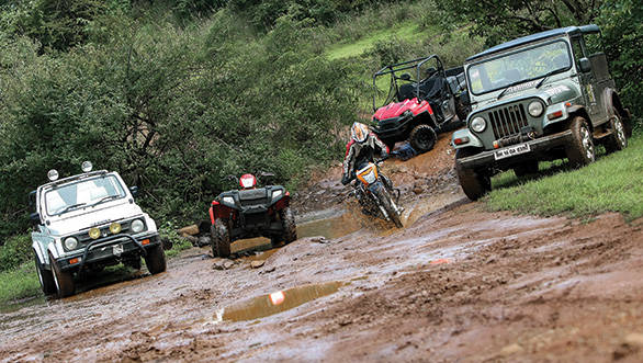 Off-roaders for the monsoon