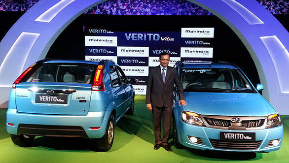 2013 Mahindra Verito Vibe at launch