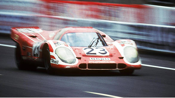 Porsche will hope to recreate their success at Le Mans. Here they are in 1970, taking the first of their 16 wins