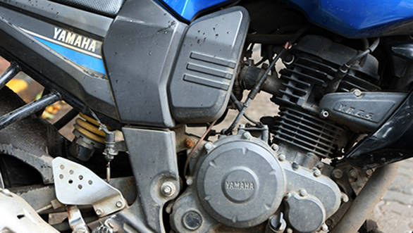 The engine helps the FZ pack better performance