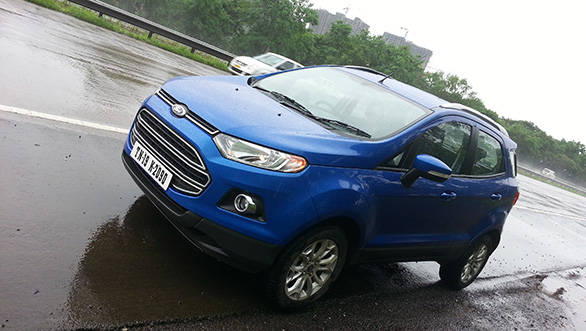 2013 Ford EcoSport petrol automatic road test