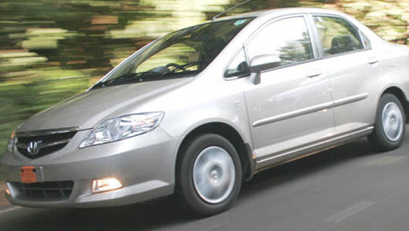 Honda City Zx from the 2008 batch