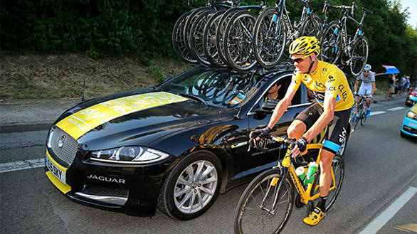 Jaguar gifts special-edition F-Type to Tour de France winner Chris Froome