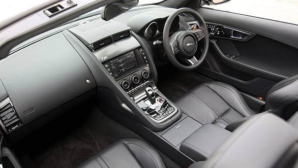 There is no wood and chrome in the interiors, it's all solid aluminum and leather