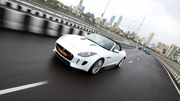 The F-Type was an unforgettable experience, it does something like driving in a urban area very interesting indeed
