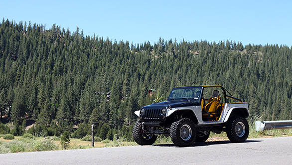 Jeep Wrangler Stitch concept first drive