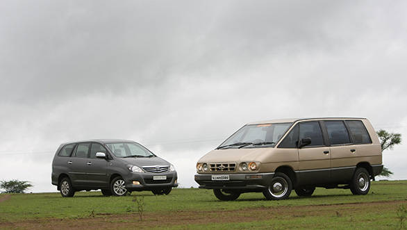 At 30mm wider than the Innova, the Kazwa was spacious, especially in the second (of three) rows
