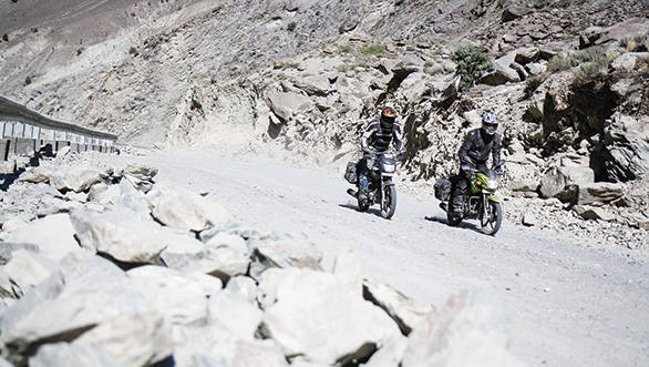Riding to Komic: 4,587 metres above sea level on 100cc bikes