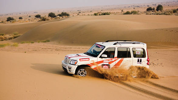 Mahindra Adventure also organises Special Escapes like the Royal Escape