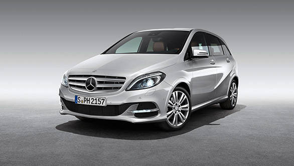 Mercedes launches the new 2013 B-Class diesel at Rs 22.6 lakh