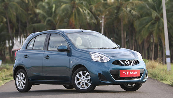nissan launches micra automatic for rs lakh entire range gets a facelift overdrive. Black Bedroom Furniture Sets. Home Design Ideas