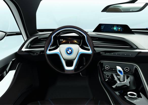 The passenger cabin is super spacious, with new 3D instruments employed to subliminally remind the driver what mode he is driving in