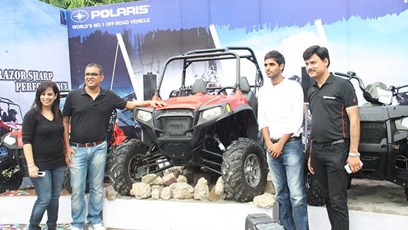 Polaris ATVs now available in Lucknow - Overdrive
