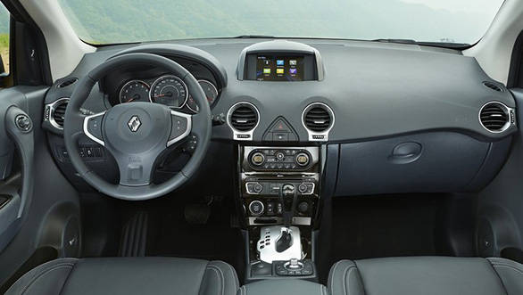 The 2013 Koleos also gets a reversing camera, hands-free card and a Bose system