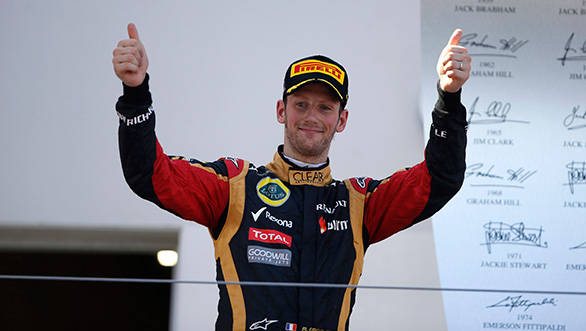 Indian GP 2013: Grosjean happy with Lotus, but says the future is still open