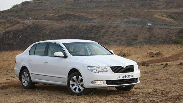 The Superb is big on space, has a practical boot, comfortable seats, pliant ride and involving handling