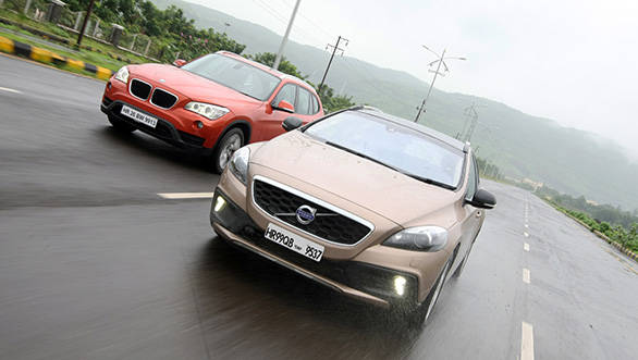 In terms of styling and interiors, the V40 turned out to be the best equipped car in this test