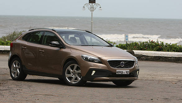 The V40 is best viewed from this angle