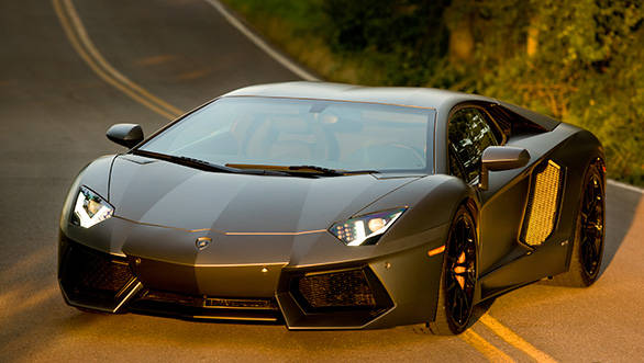 The 2014 Lamborghini Aventador