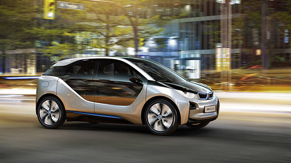 2011 preview of the BMW 'i' concept debut