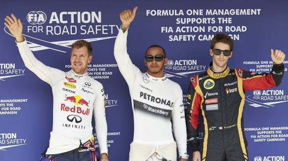 2013 Hungarian GP: Hamilton takes his third straight pole