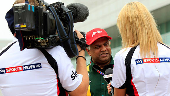 Tony Fernandes, the man behind Caterham