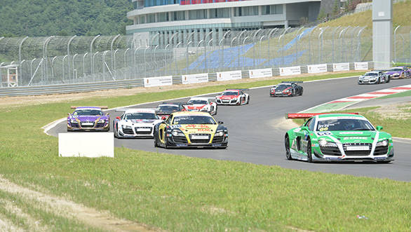 The Audi R8 LMS Cup is the world's fastest single-make series