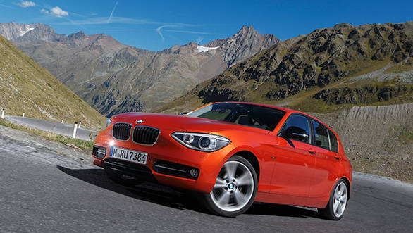 BMW 1 series will be available in both petrol and diesel variants