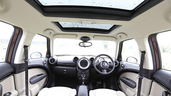 The interiors of the Mini are unconventional, yet user friendly