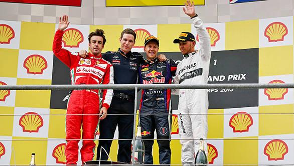 F1 2013: Vettel wins Belgium GP