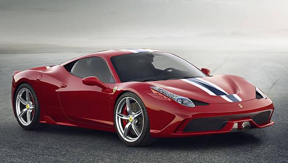 Ferrari announces prices of its models in India