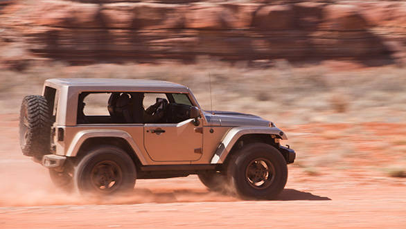 The drive feel isn't dissimilar to the stock Wrangler