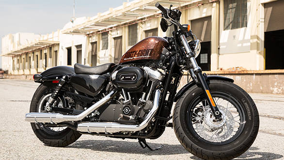 Image of an Harley-Davidson Sportster used as a reference
