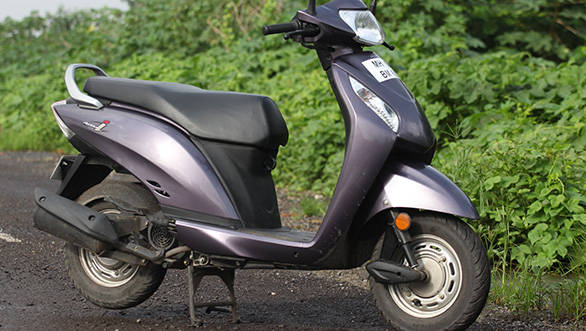 The Activa i completes Honda's range as the scooter for women