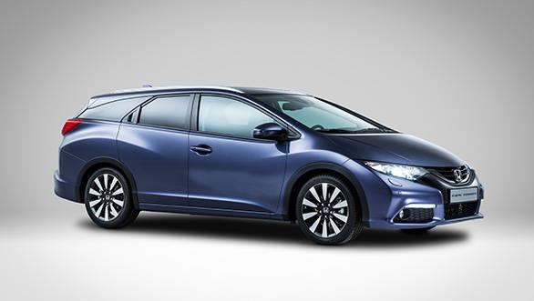 Honda reveals the Civic Tourer ahead of its Frankfurt debut