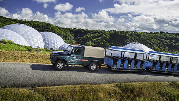 Land Rover begins public trials of electric Defender