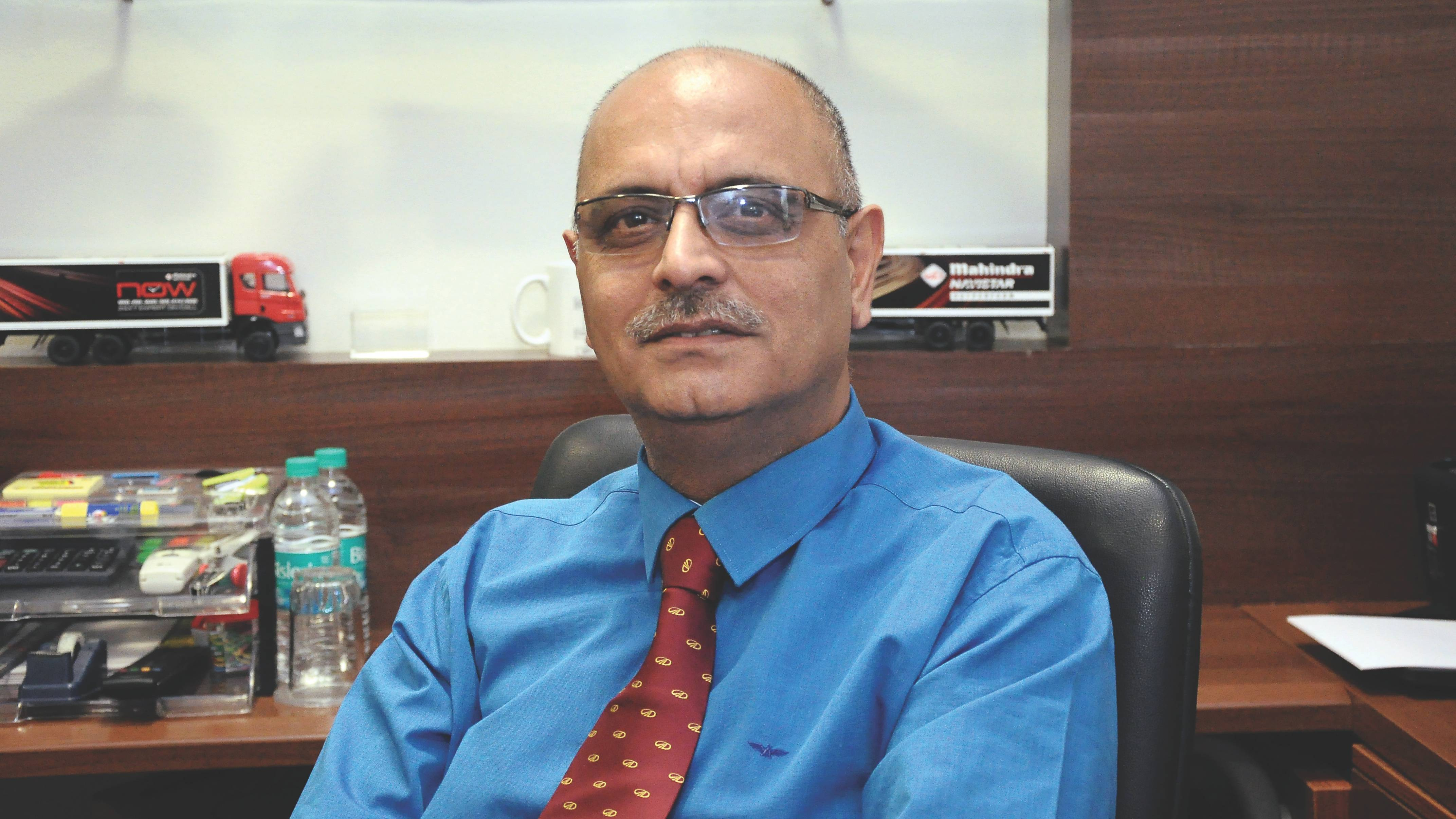 Interview: Nalin Mehta, MD and CEO, Mahindra Trucks and Buses