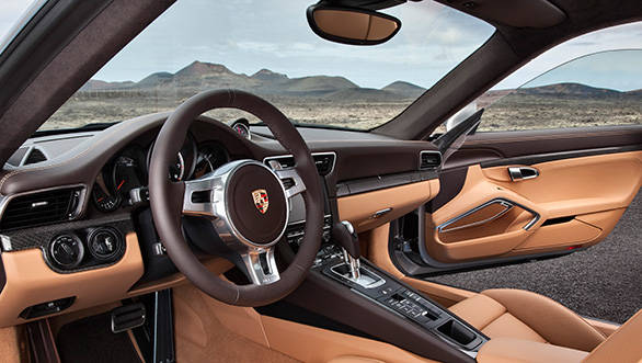 Ingress and egress are a bit bothersome in the low-slung 911 Turbo S