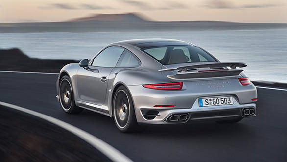 Porsche were unable to reduce the weight of the car because there are just so many luxury trappings
