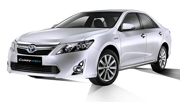 2013 Toyota Camry hybrid in India