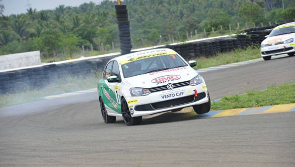 Polo R Cup: OVERDRIVE contest winners race their Ventos
