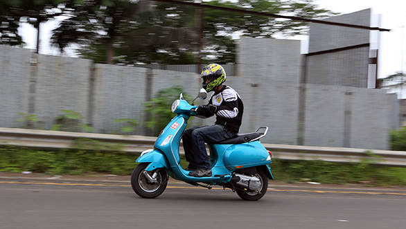 With the update, Piaggio has fixed one of the bigger problems the Vespa had