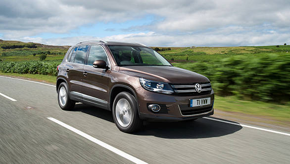 The Tiguan Match is available as a two-wheel or four-wheel drive, just like it is also available in both petrol and diesel options