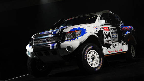 Ford readies its Rangers for Dakar